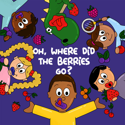Oh, Where Did the Berries Go? - Cover