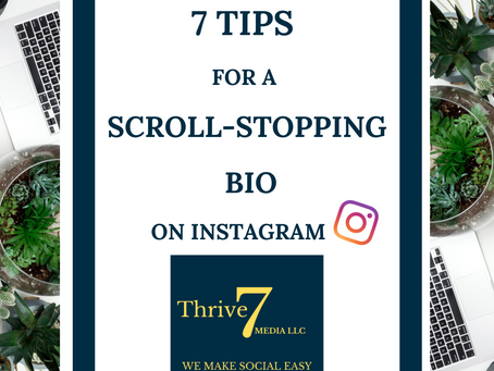 7 Tips for a Scroll-Stopping Bio on IG