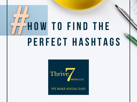 How to Find the Perfect Hashtags