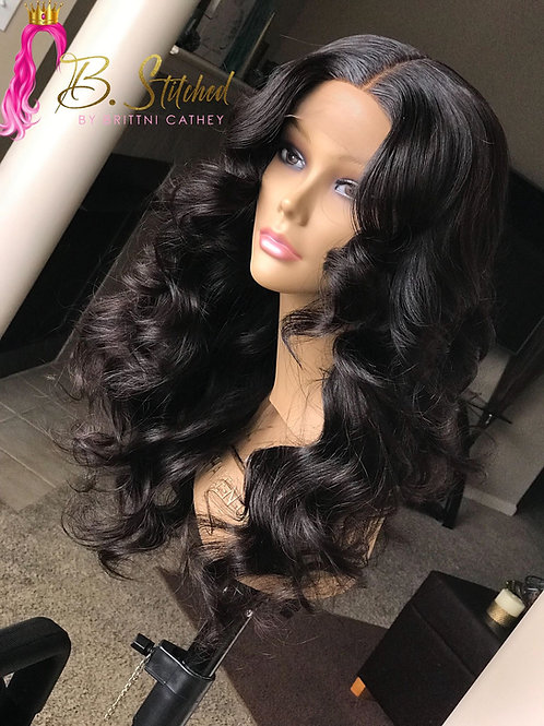 13*4 Frontal (uncustomized: Wig ONLY)