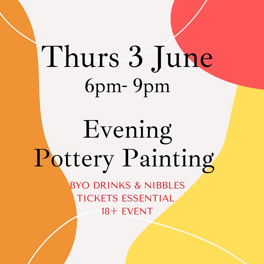 3 June Late Night Paint Night