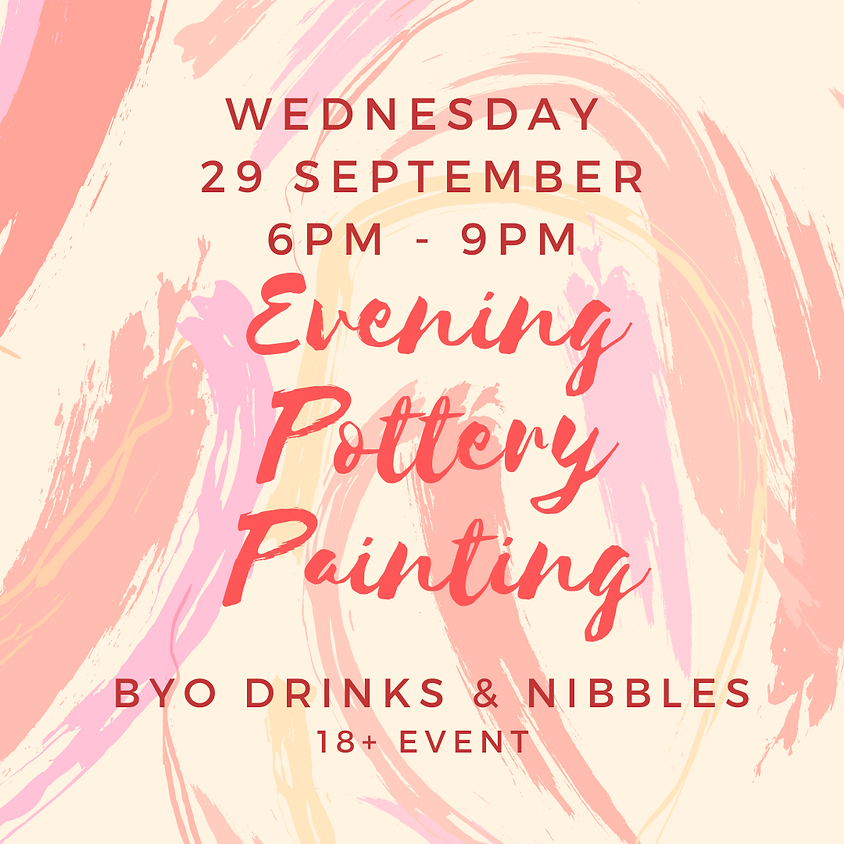 29 September Late Night Paint Night