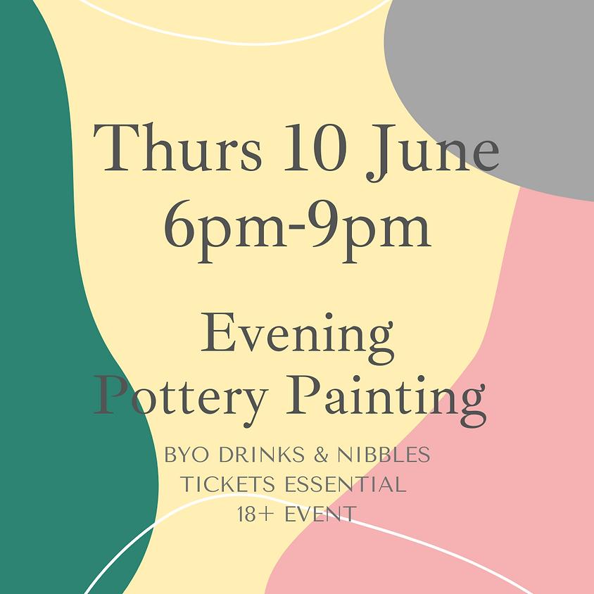 10 June Late Night Paint Night