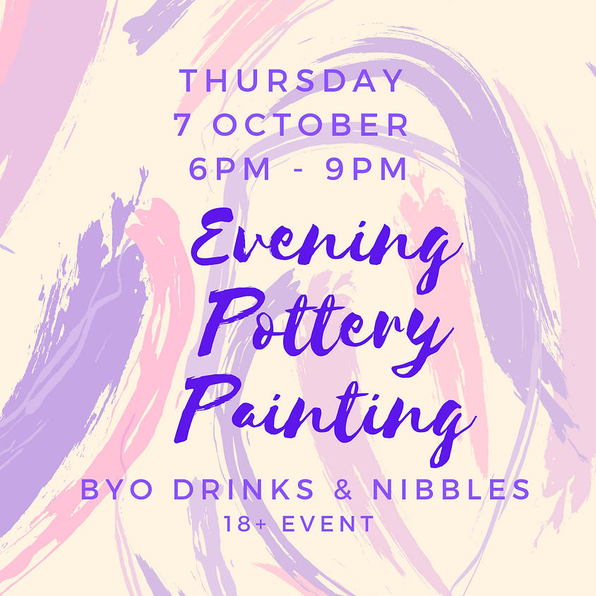 7 October Late Night Paint Night