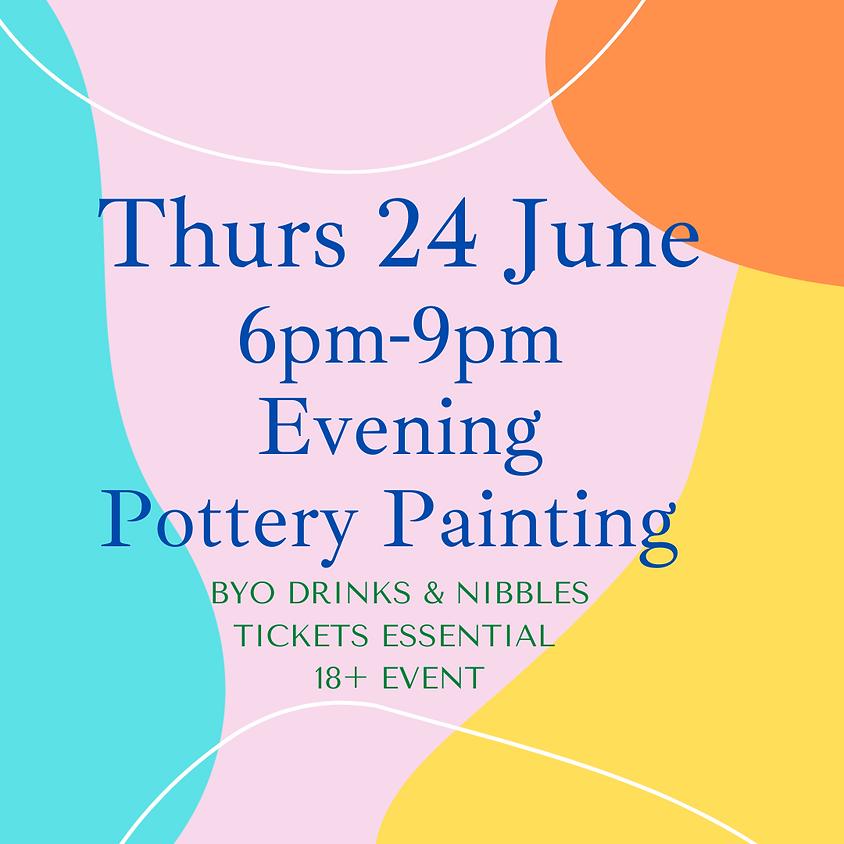 24 June Late Night Paint Night