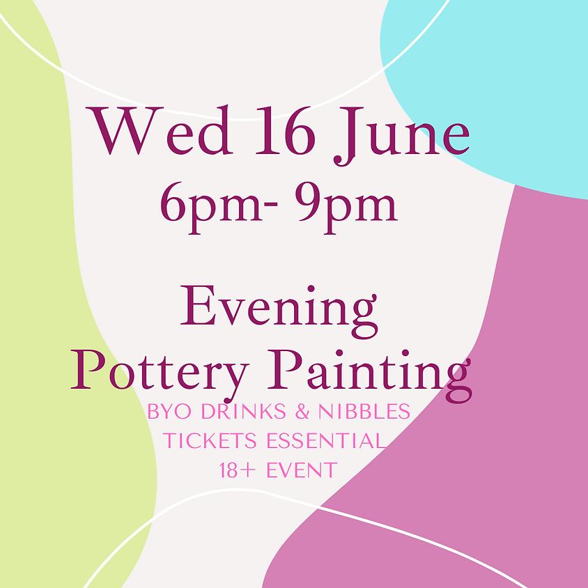 16 June Late Night Paint Night