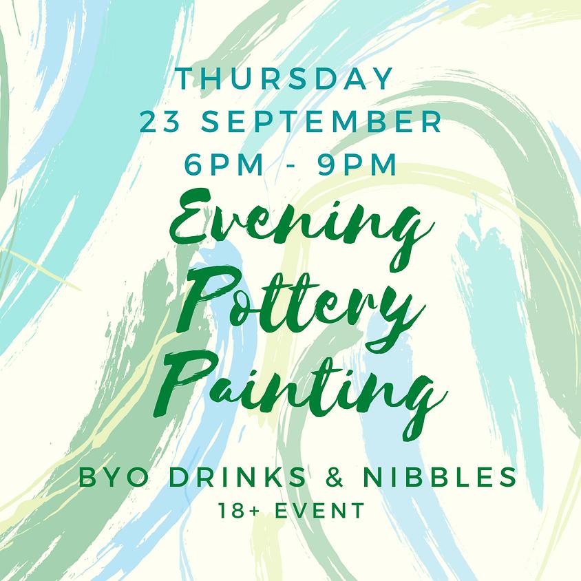 23 September Late Night Paint Night