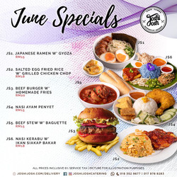 Joshijosh June Specials