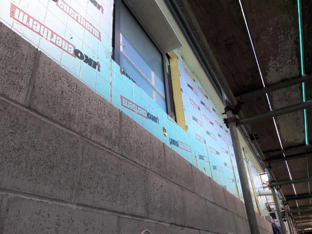 Concrete Block covering Enertherm
