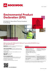 Sustainability Environmental Product Dec