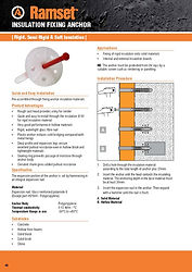 Ramset Insulation Anchor Data Sheet_Page