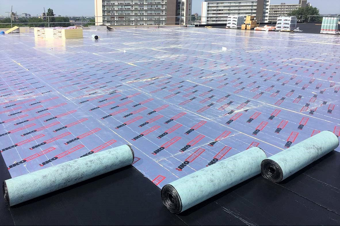 Enertherm being covered with membrane