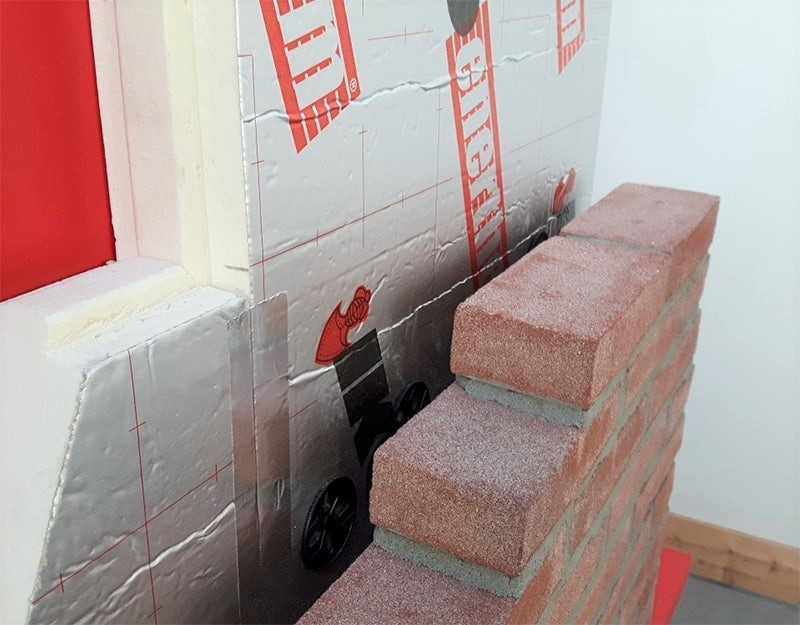 Enertherm with Brick Wall