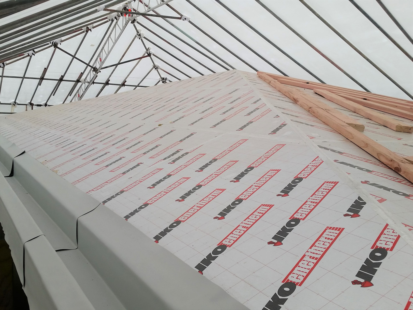 Te Arei Pitched Roof