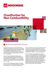 Rockwool Fire Classification non combust