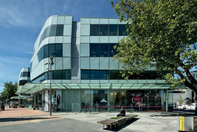 Showing ANZ Centre facade