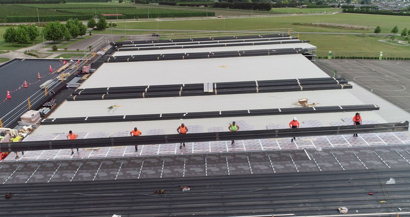 Metal being laid over Enertherm