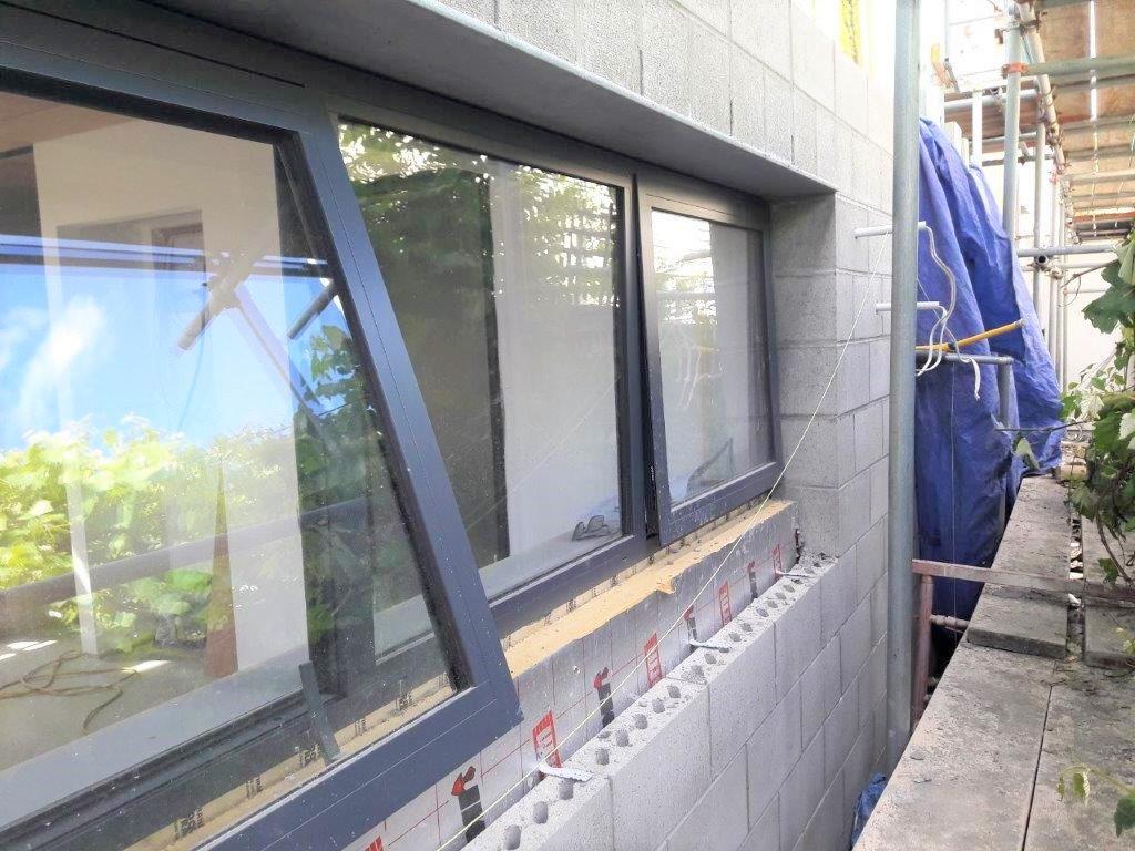 Cavity Wall installation