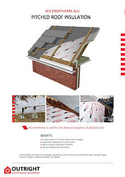 Outright Pitched Roof Insulation Brochur