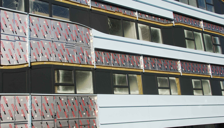 Enertherm in wall application