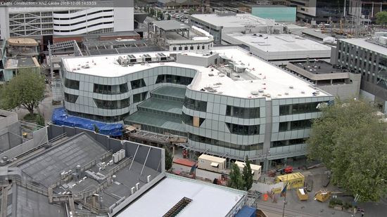 ANZ Centre from above