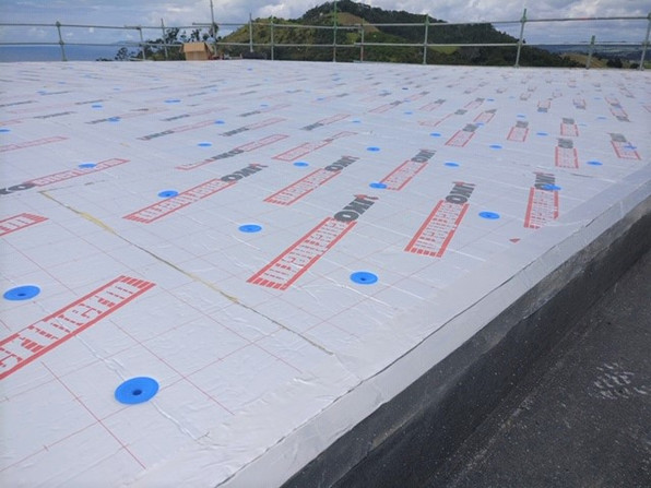 Tapered Boards with IKO Fastners