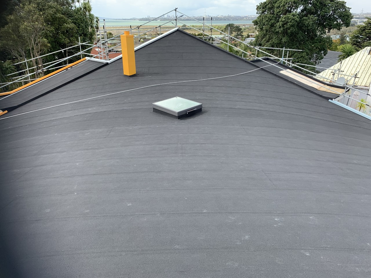 Curved Enertherm Roof Overlay