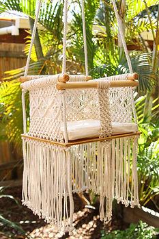 Macrame Baby Swing Pattern
