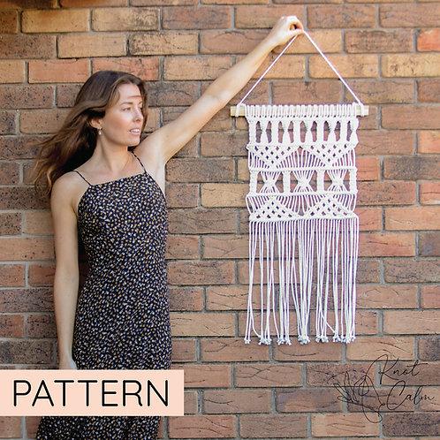 Macrame Wall Hanging Pattern Beginner