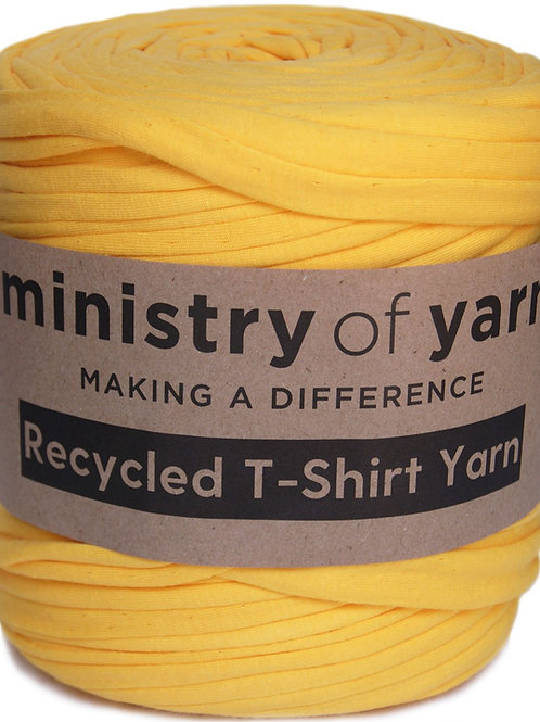 Cheerful Yellow T-shirt Yarn