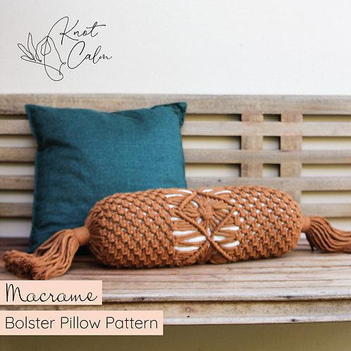 Macrame Bolster Pillow Pattern