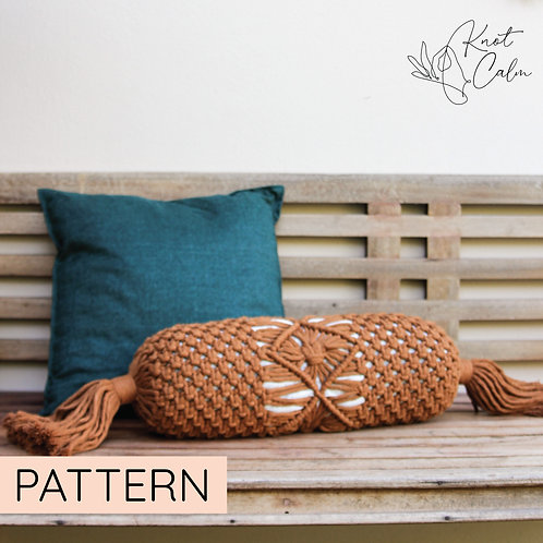 Macrame Bolster Pillow Pattern