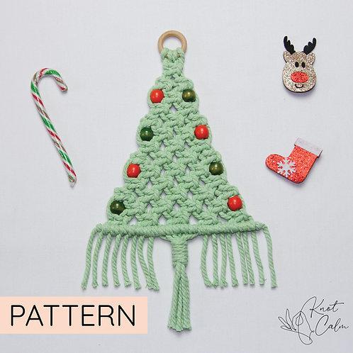 Macrame Christmas Tree Pattern