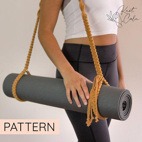 Macrame Yoga Mat Strap Pattern