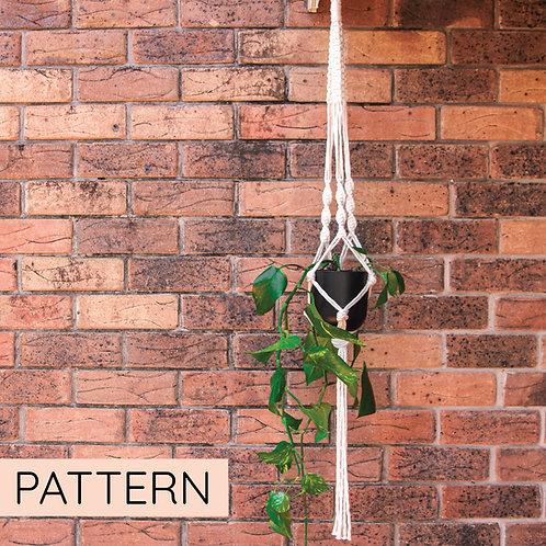 Macrame Pot Plant Hanger Pattern
