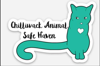 1 Sticker & 1 Button - Safe Haven Logo