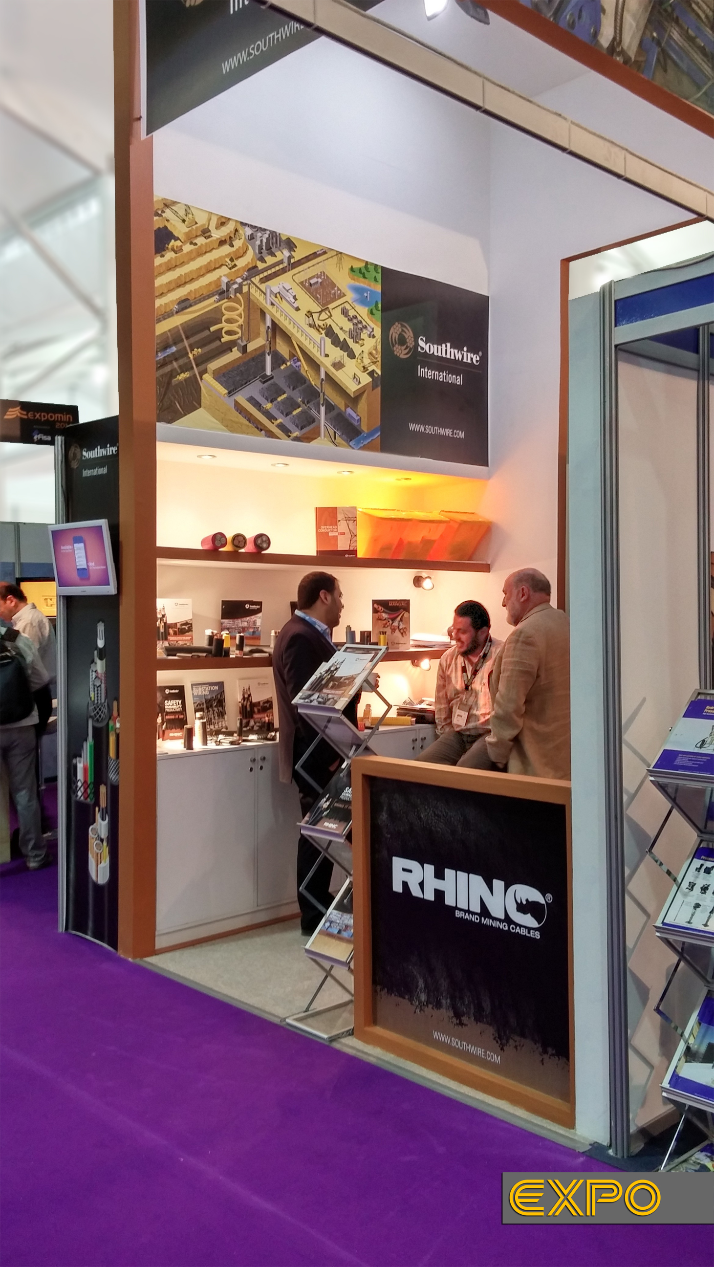 Stand Southwire - Expomin 2014