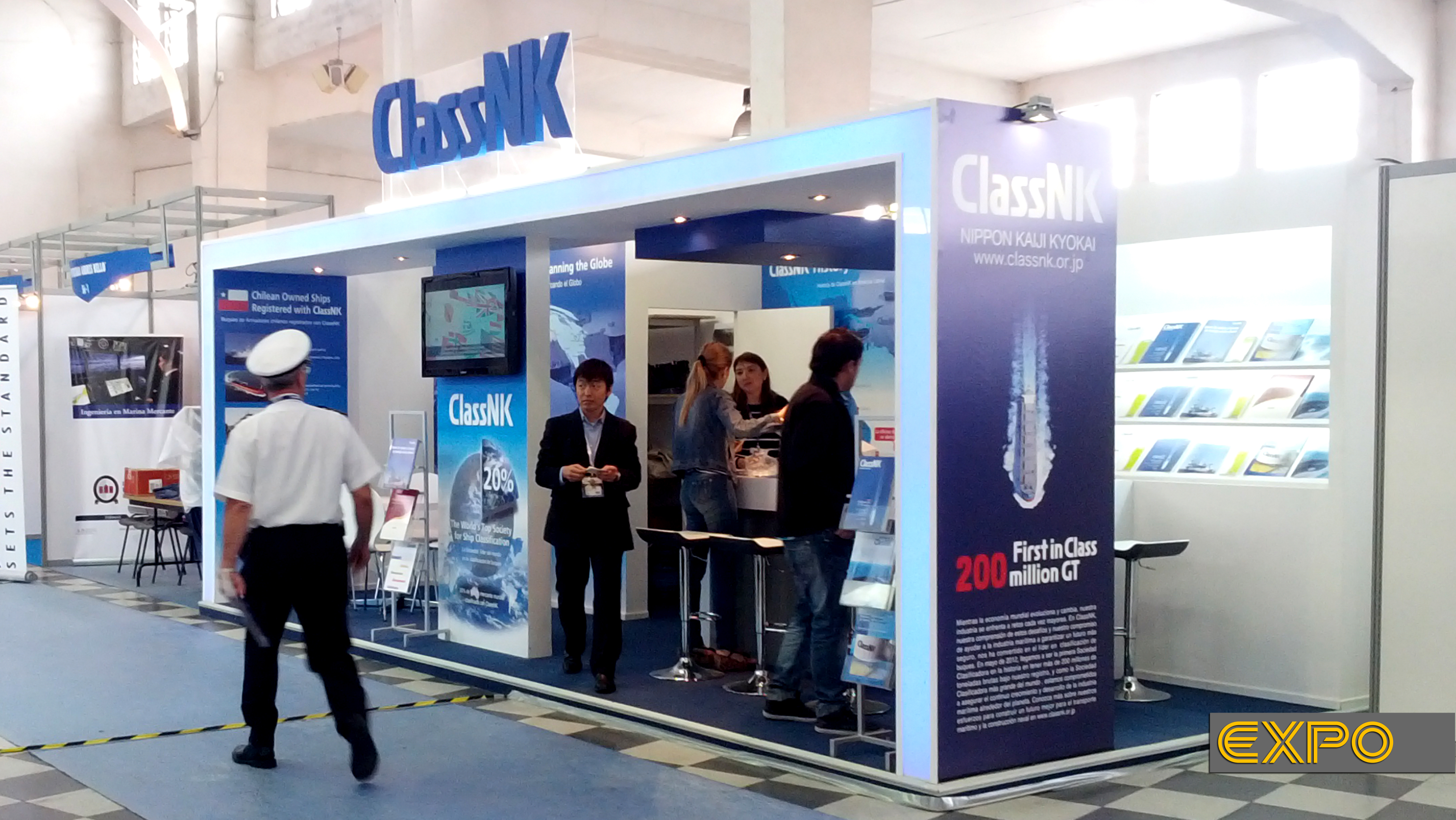 Stand Class NK - Exponaval 2012