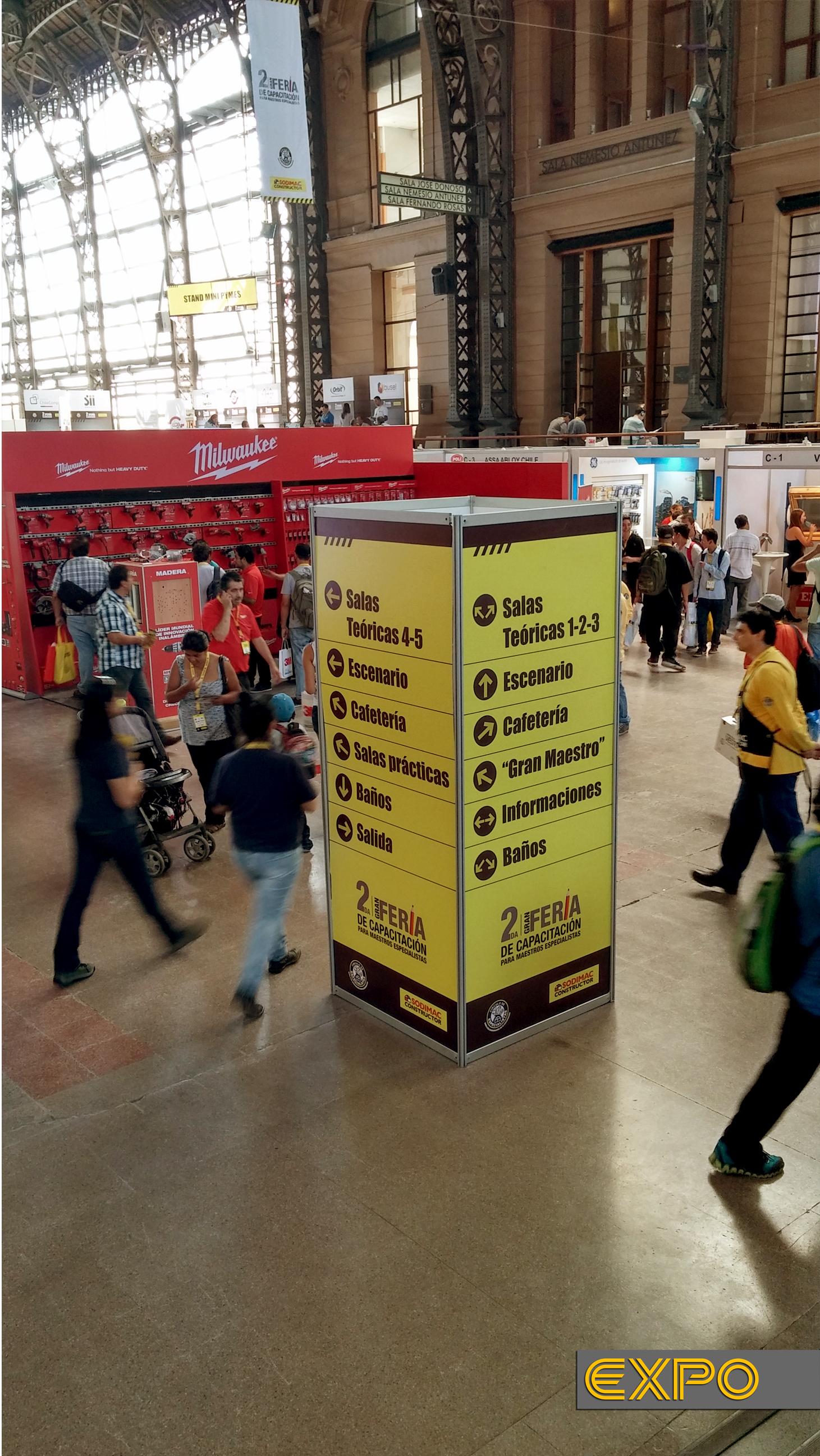 Feria CES Sodimac - Estación Mapocho