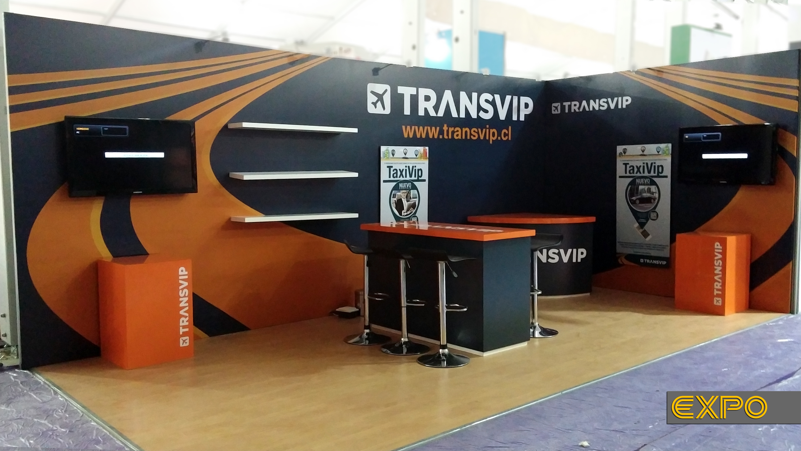 Stand TransVip - Expomin 2014