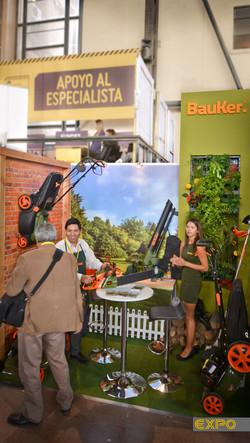 Stand Bauker Jardín - Feria CES 2016