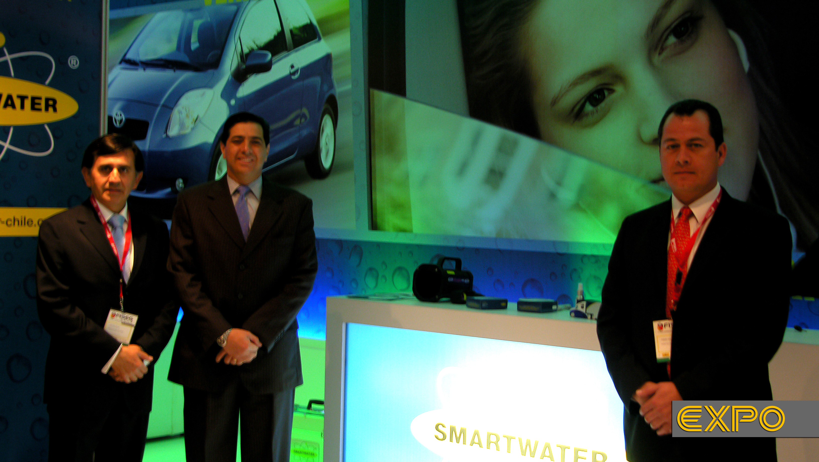 Stand Smartwater - Fiseg