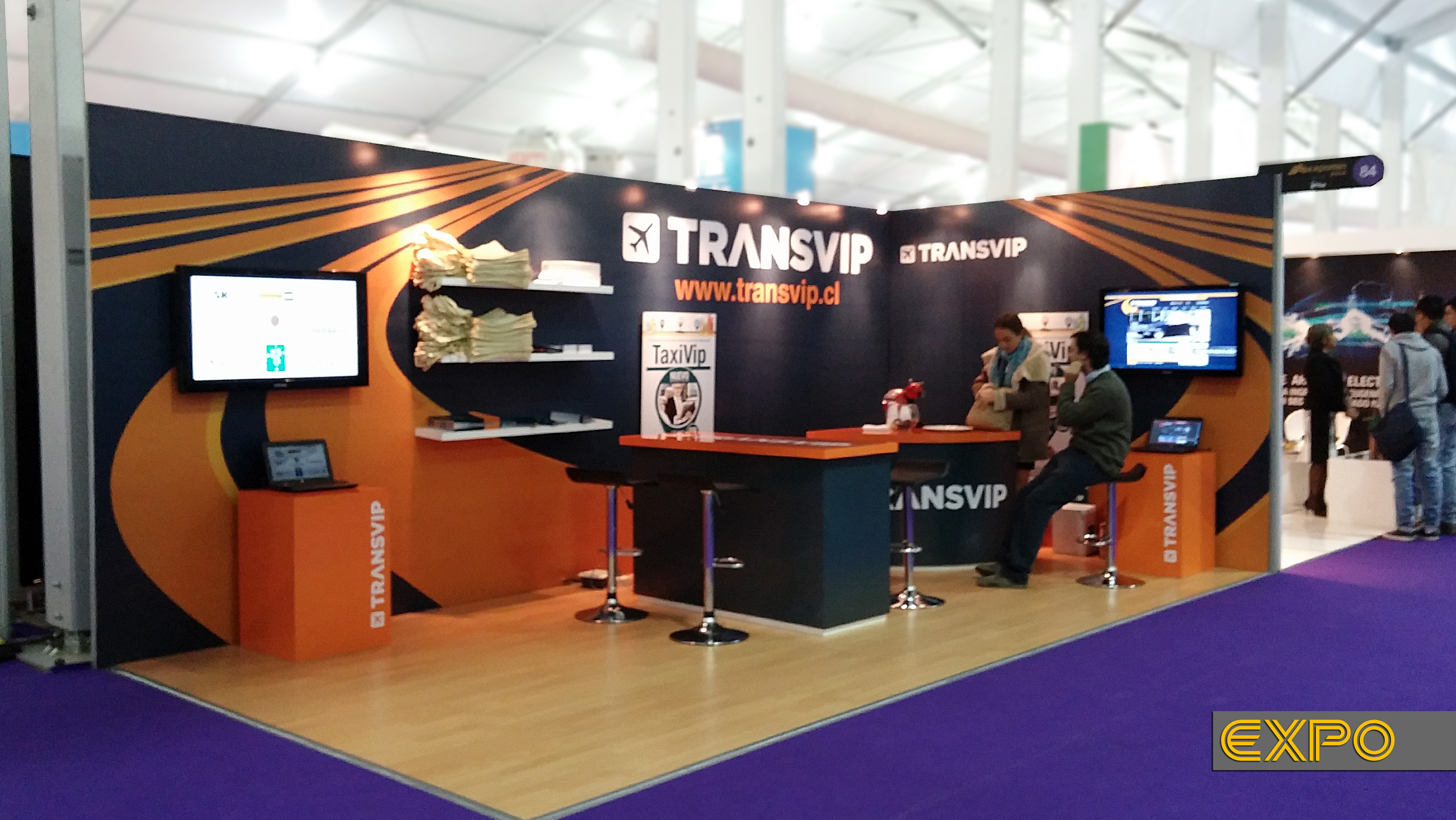 TransVip - Expomin 2014