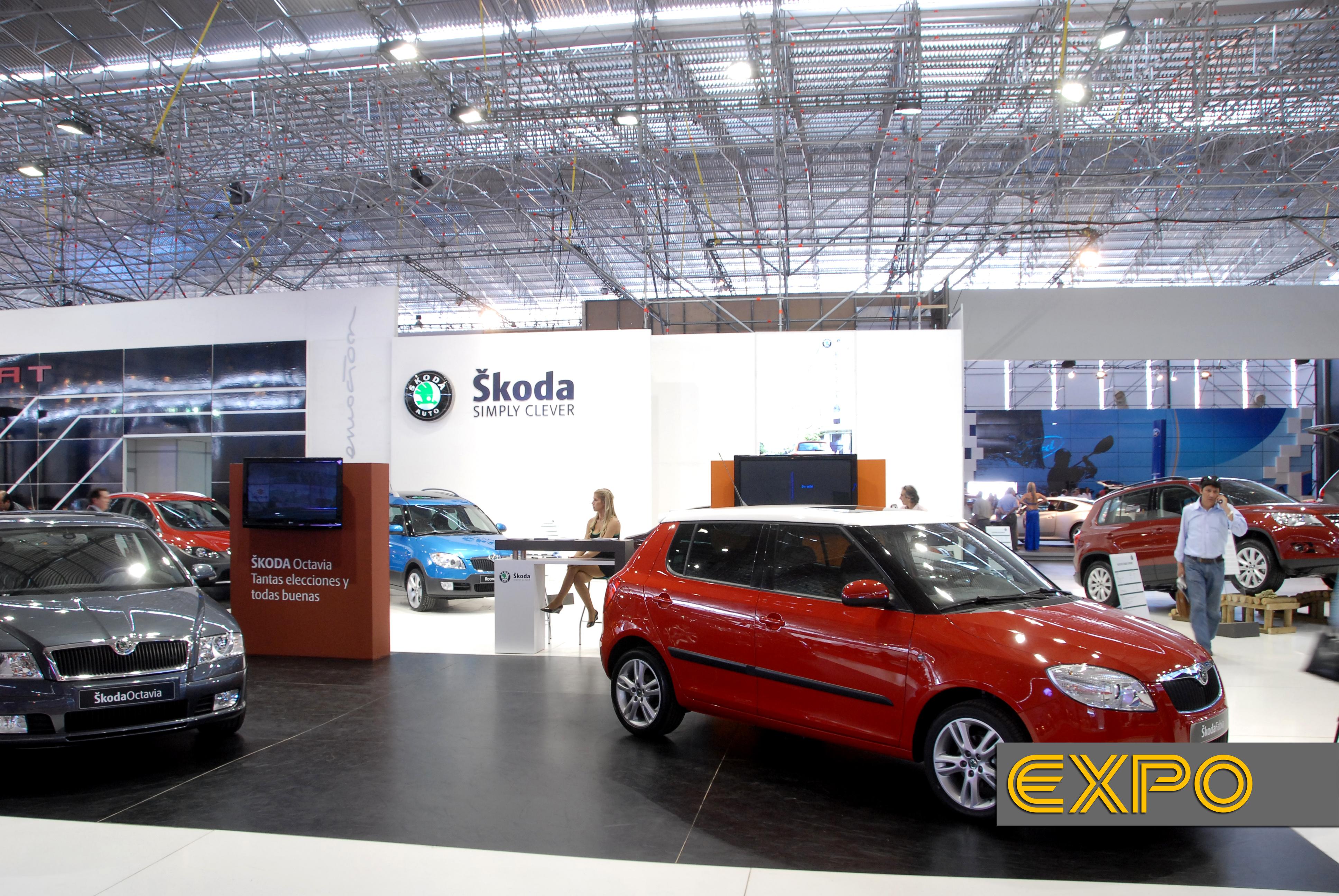 Skoda - Salón del Automóvil 2008