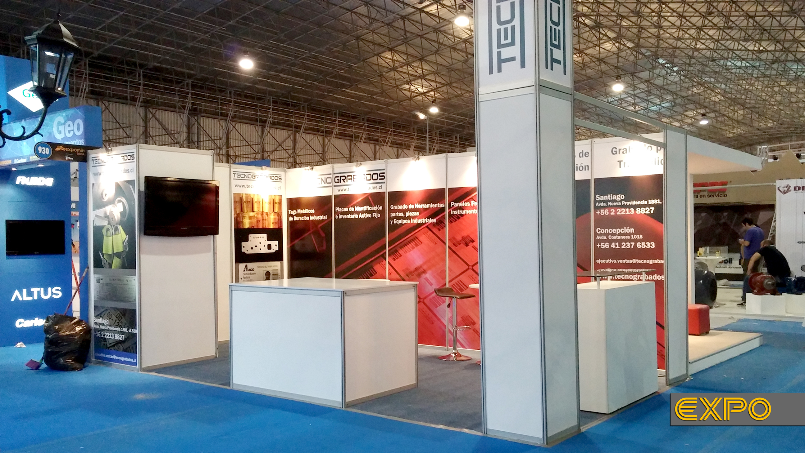 Stand Tencograbados - Expomin 2014