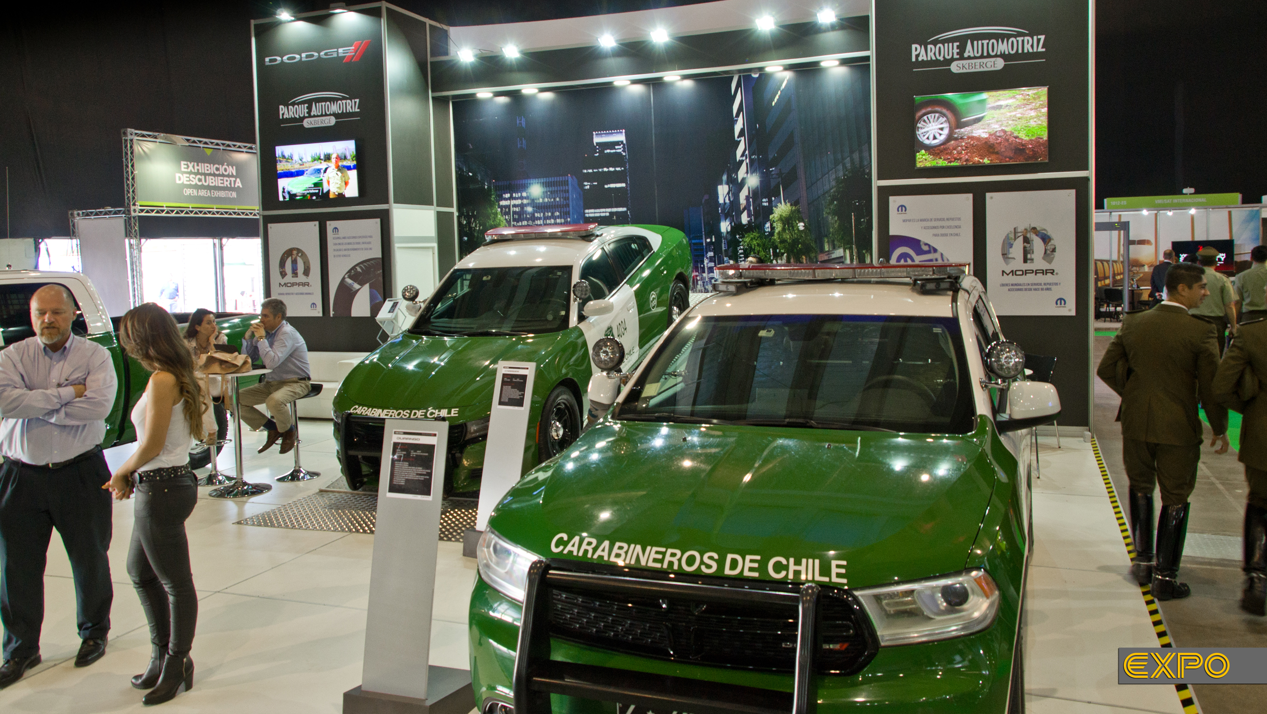 Dodge SKBergé - Exposeguridad 2017