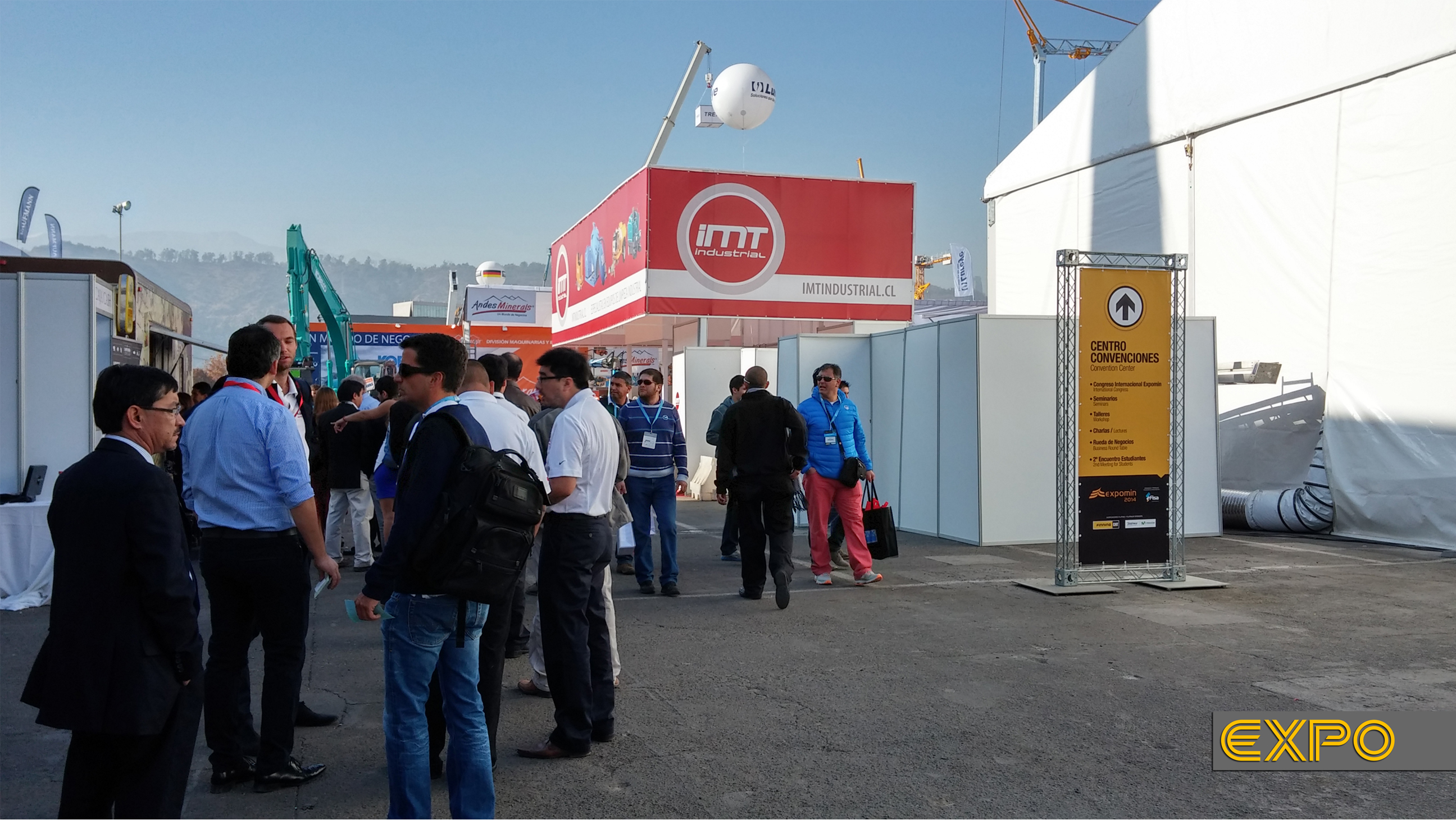 Stand IMT - Expomin 2014