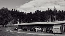 Woodland barn wedding venue