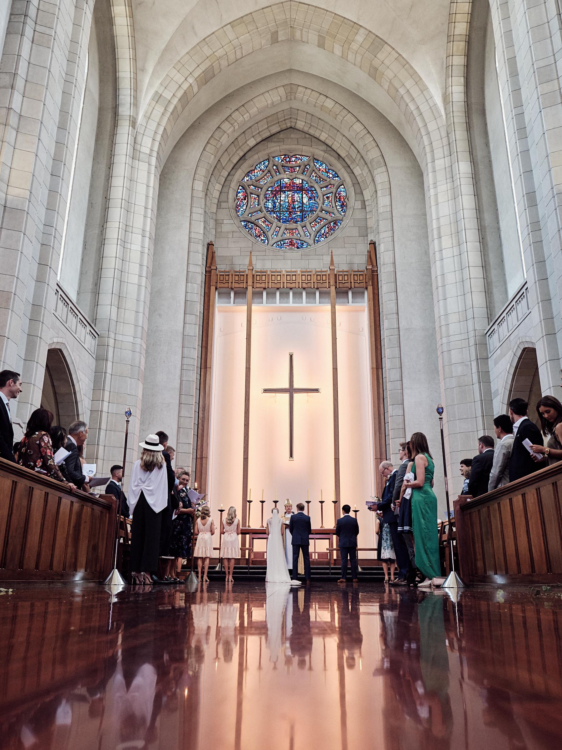 Church wedding NZ