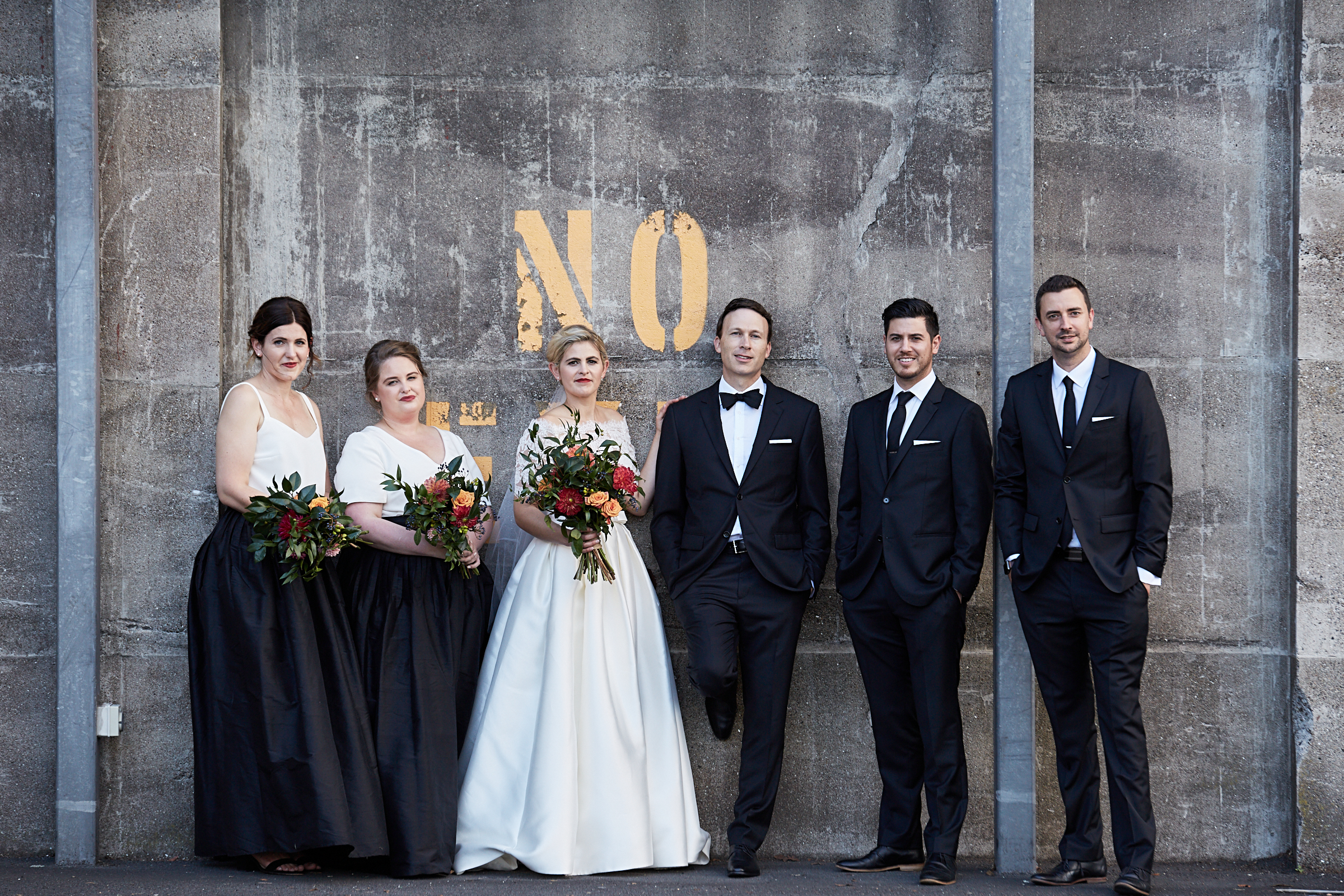 Urban wedding Auckland
